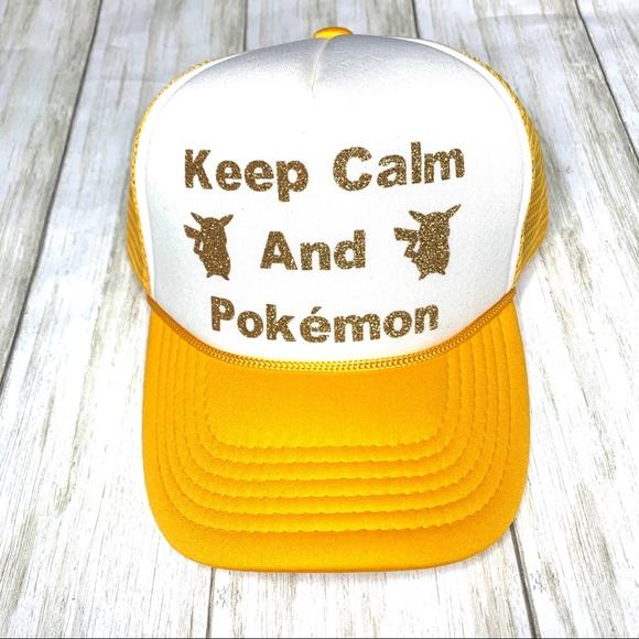 Other - Unisex Pokémon SnapBack trucker hat. OS
